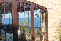 La baie de la terrasse